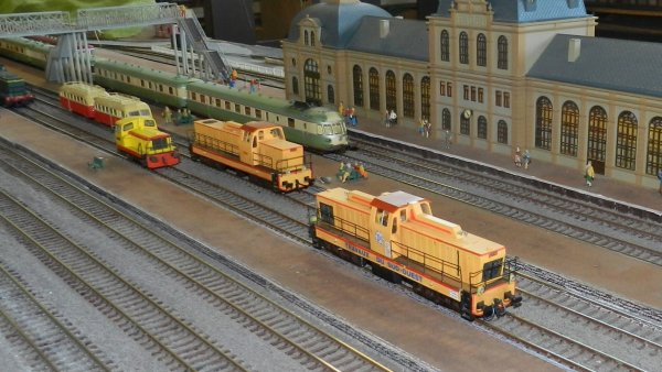 Ma visite au Cercle Ferroviaire de Nancy - le réseau HO (10)