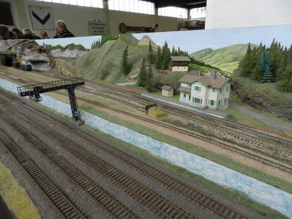 Ma visite au Cercle Ferroviaire de Nancy - le réseau HO (12)