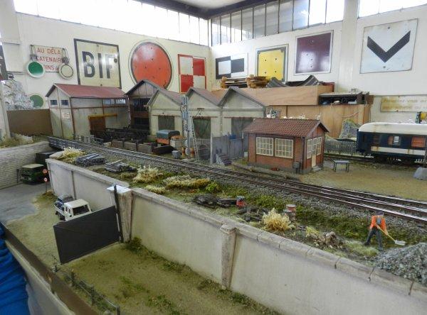 Ma visite au Cercle Ferroviaire de Nancy - le réseau Zéro (4)