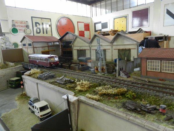 Ma visite au Cercle Ferroviaire de Nancy - le réseau Zéro (5)