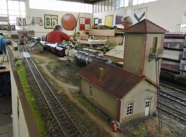 Ma visite au Cercle Ferroviaire de Nancy - le réseau Zéro (6)