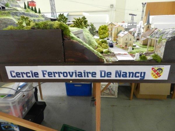 Ma visite au Cercle Ferroviaire de Nancy - les maquettes (1)