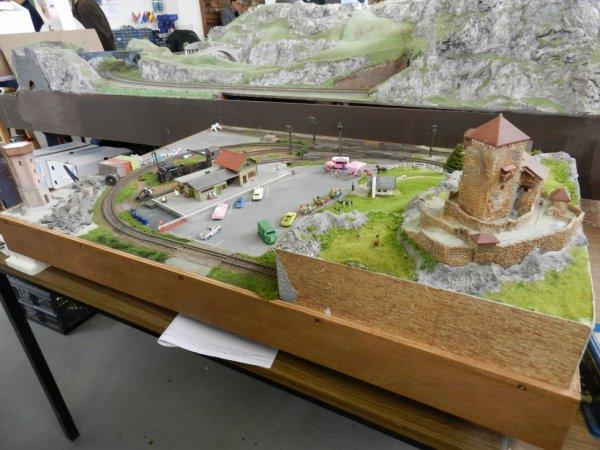 Ma visite au Cercle Ferroviaire de Nancy - les maquettes (2)