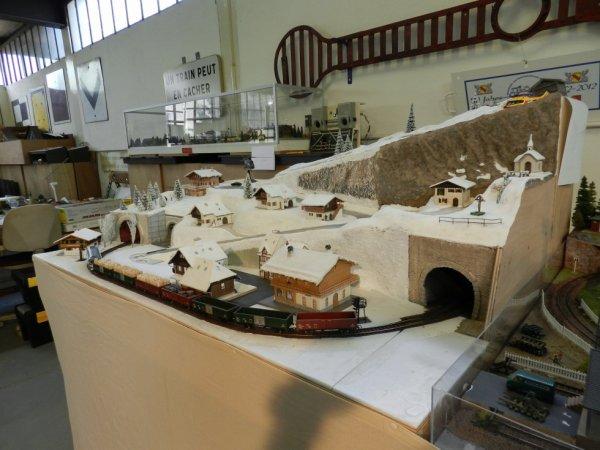 Ma visite au Cercle Ferroviaire de Nancy - Un décor enneigé (4)