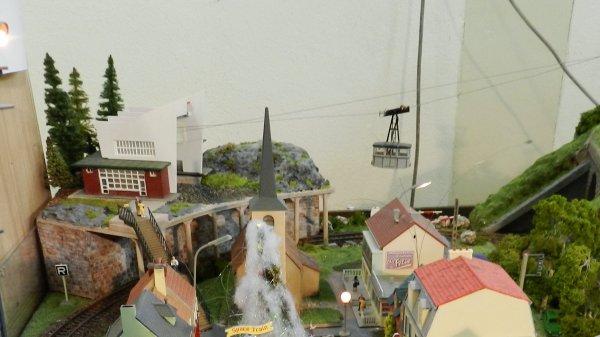 Ma visite au Cercle Ferroviaire de Nancy - Petite maquette de montagne (1)