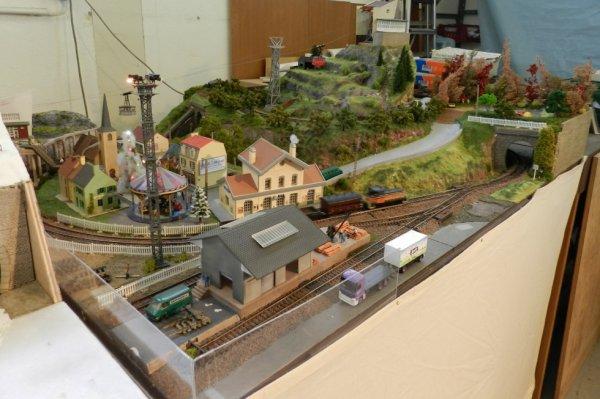 Ma visite au Cercle Ferroviaire de Nancy - Petite maquette de montagne (2)
