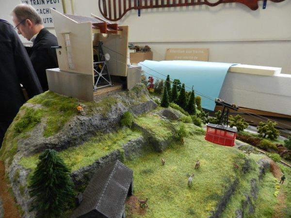 Ma visite au Cercle Ferroviaire de Nancy - Petite maquette de montagne (4)