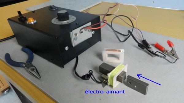 La page du bricoleur - Comment fonctionne un électro-aimant (2)