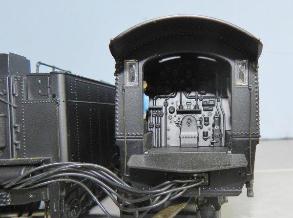 Mon réseau - Locomotive US digitale sonorisée, la 4-8-4 Santa Fe 3754 (1)