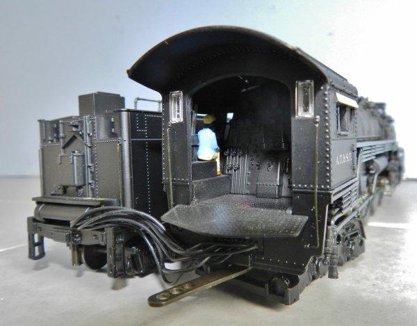 Mon réseau - Locomotive US digitale sonorisée, la 4-8-4 Santa Fe 3754 (4)