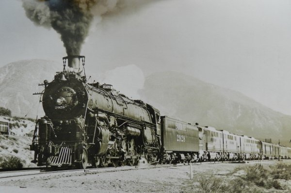 Mon réseau - Locomotive US digitale sonorisée, la 4-8-4 Santa Fe 3754 (6)