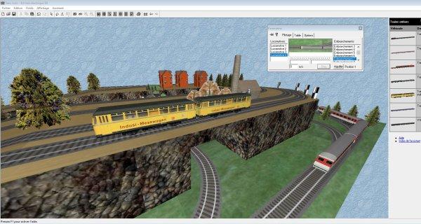 Mes jeux PC - Clic & Go Kit train électrique 3D - Réaliser plans et maquettes (6)