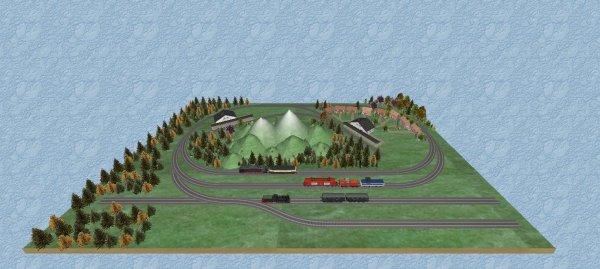 Mes jeux PC - Clic & Go Kit train électrique 3D - Réaliser plans et maquettes   (7)