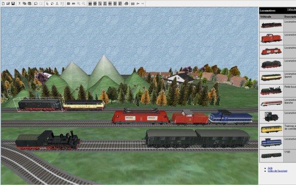 Mes jeux PC - Clic & Go Kit train électrique 3D - Réaliser plans et maquettes (10)