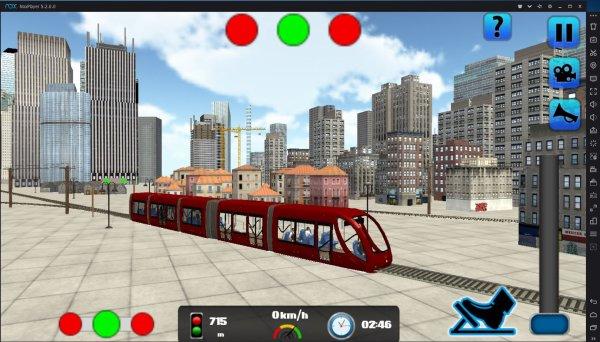 La simulation des trains sur les applications Androïd Google Play sur PC(4)