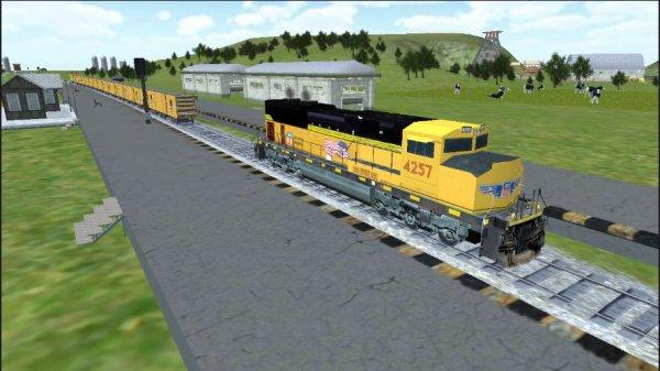 La simulation des trains sur les applications Androïd Google Play sur PC(3)