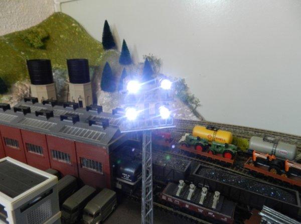 Mon réseau - Les pylônes d'éclairage de la marque TYCO-town - Installations des pylônes (6)