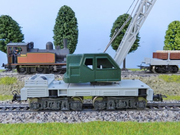 Mon réseau - Construction d'un wagon grue personnalisé (3)