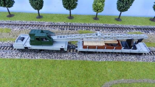 Mon réseau - Construction d'un wagon grue personnalisé (4)