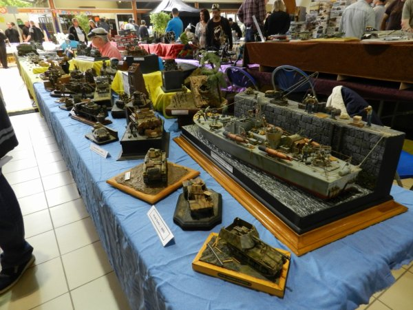Ma visite à Compiègne au 7éme Salon Modélisme Maquettes Figurines (d1)
