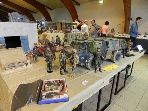Ma visite à Compiègne au 7éme Salon Modélisme Maquettes Figurines (g1)