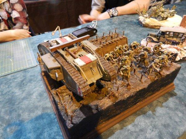 Ma visite à Compiègne au 7éme Salon Modélisme Maquettes Figurines (L2)