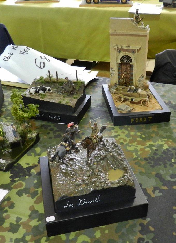 Ma visite à Compiègne au 7éme Salon Modélisme Maquettes Figurines (L3)