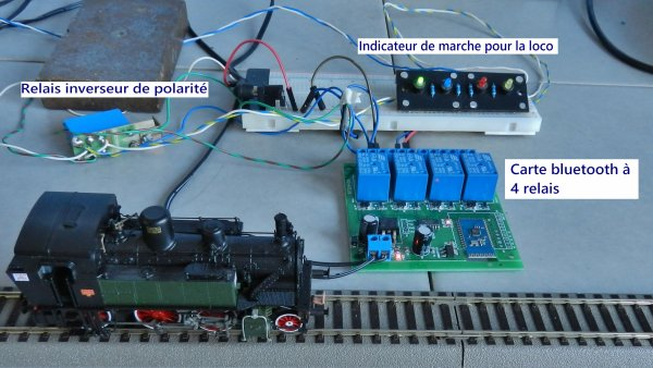 Mes activités - Module à 4 relais DC 12V bluetooth pour Android Mobile (2)