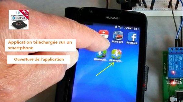 Mes activités - Module à 4 relais DC 12V bluetooth pour Android Mobile (3)