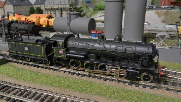 La loco vapeur 140C-231 côté modélisme  (3)