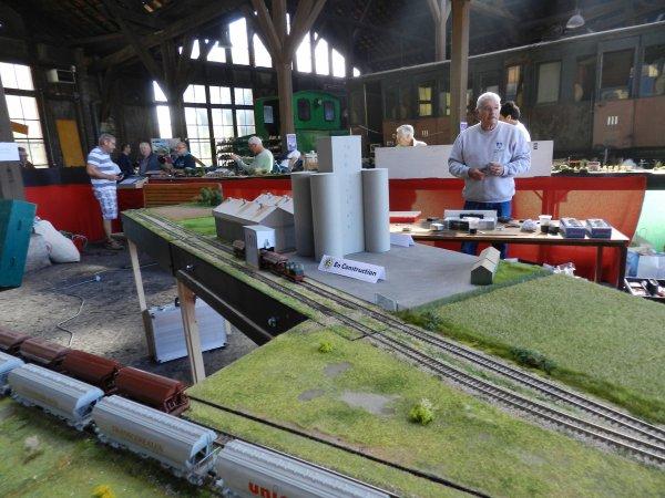 Ma visite - Les Journées de la vapeur à l'Ajecta à Longueville (e1)
