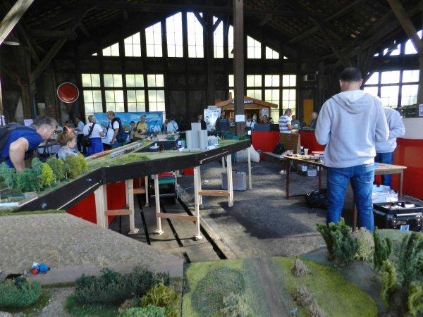 Ma visite - Les Journées de la vapeur à l'Ajecta à Longueville (e4)