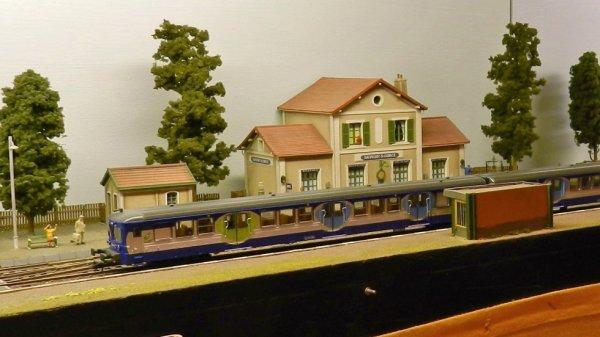 Ma visite - Expo de Modélisme ferroviaire ,centre culturel de Chelles 2018 (5)