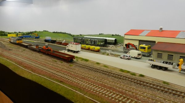 Ma visite - Expo de Modélisme ferroviaire ,centre culturel de Chelles 2018 (f1)