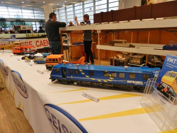 Ma visite - Expo de Modélisme ferroviaire ,centre culturel de Chelles 2018 (c1)