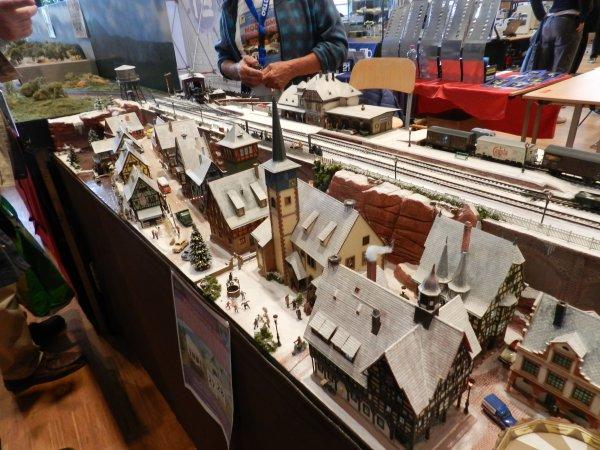Ma visite - Expo de Modélisme ferroviaire ,centre culturel de Chelles 2018 (g1)