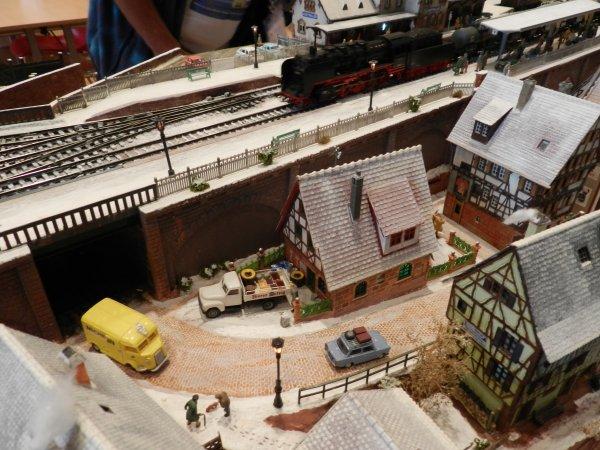 Ma visite - Expo de Modélisme ferroviaire ,centre culturel de Chelles 2018 (g2)