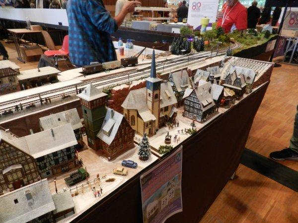 Ma visite - Expo de Modélisme ferroviaire ,centre culturel de Chelles 2018 g3)
