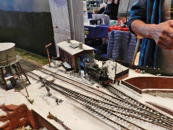 Ma visite - Expo de Modélisme ferroviaire ,centre culturel de Chelles 2018 g4