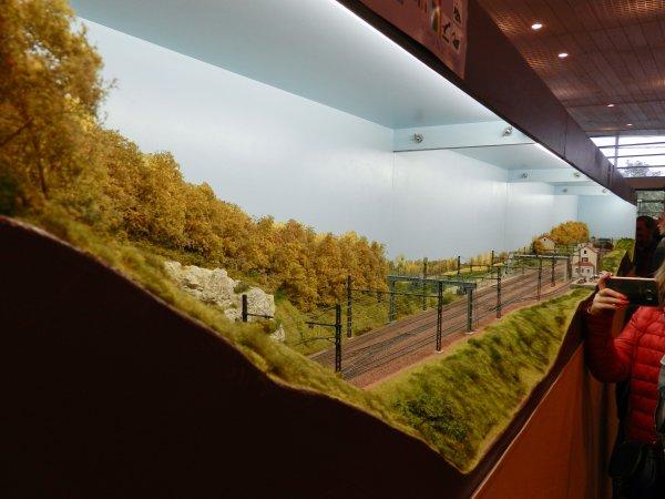 Ma visite - Expo de Modélisme ferroviaire ,centre culturel de Chelles 2018 (h1)