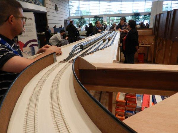 Ma visite - Expo de Modélisme ferroviaire ,centre culturel de Chelles 2018 (h2)