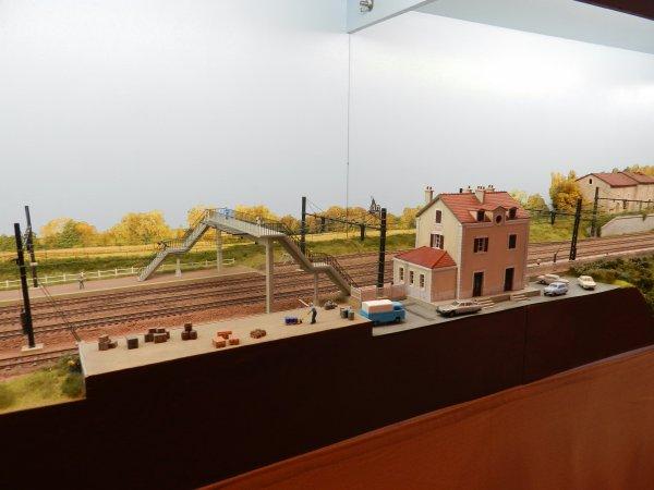Ma visite - Expo de Modélisme ferroviaire ,centre culturel de Chelles 2018 (h4)