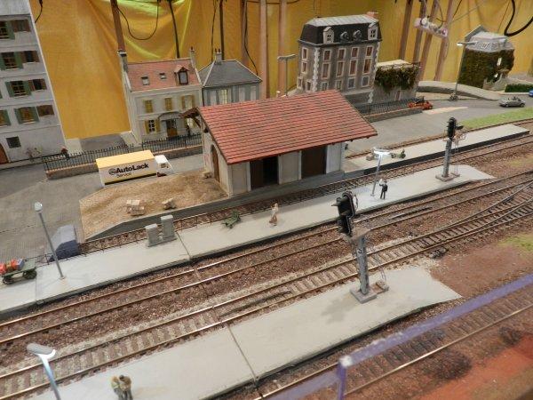 Ma visite - Expo de Modélisme ferroviaire ,centre culturel de Chelles 2018 (k1)