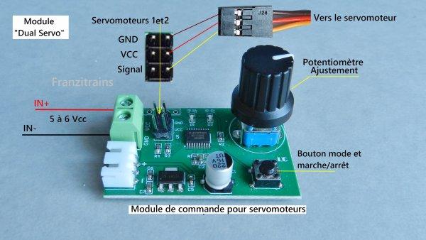 Mes montages - Modification d'un servomoteur en rotation continue à 360° (1)