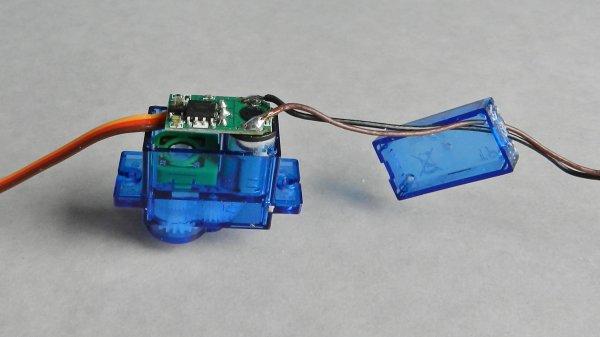Mes montages - Modification d'un servomoteur en rotation continue à 360° (4)