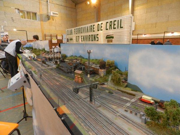 Aperçu du Salon Européen de la maquette ferroviaire le 07/08/ 01/2012 à St Nicolas les Arras