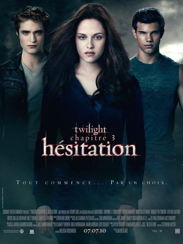 Twilight 3 Hésitation ma critique