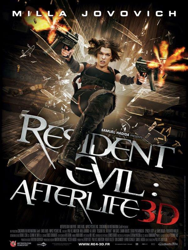 Resident Evil : Afterlife 3D ma critique