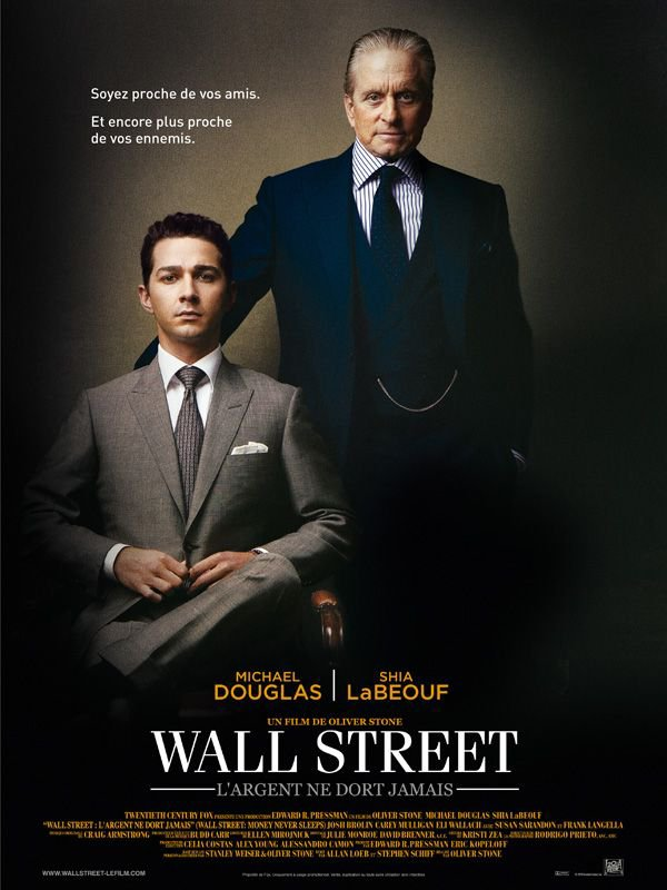 Wall Street : l'argent ne dort jamais ma critique