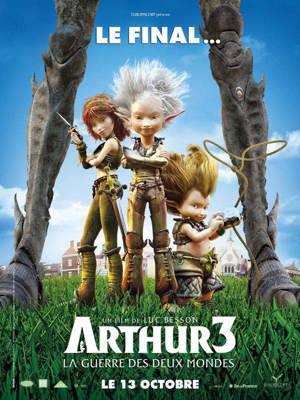 Arthur la guerre des deux mondes ma critique